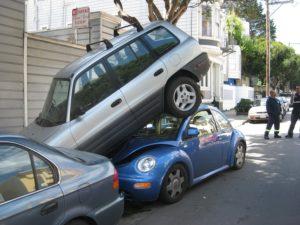 Смена места парковки