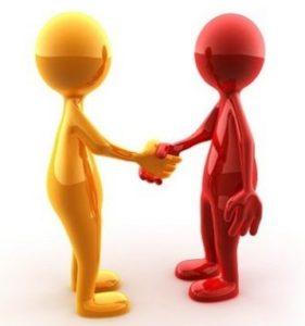 связаться с потерпевшим и предложить мирное соглашение