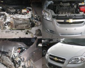 Восстановление машины после дтп