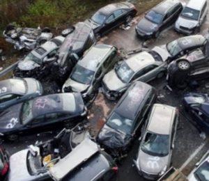ДТП при участии более двух машин