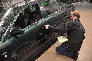 проверка поврежденного автомобиля