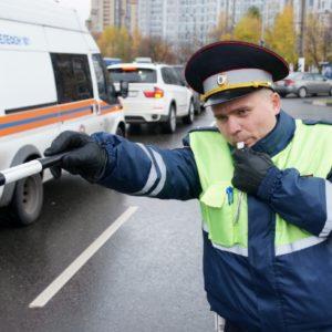 Может ли инспектор остановить машину без необходимости