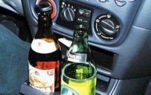 Лишат ли прав за пиво в припаркованной машине