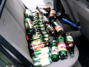 Если пьешь на заднем сиденье лишат ли прав