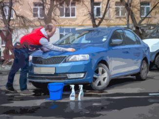 мыл машину во дворе лишили прав