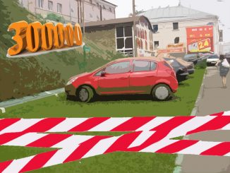 Штраф в 300 тысяч рублей за парковку на газоне грозит и водителю