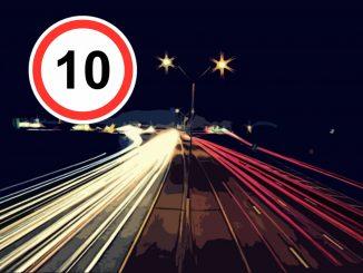 ГИБДД сообщил, когда будут штрафы за превышение скорости на 10 км/ч