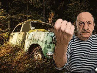 Пенсионеру арестовали автомобиль за въезд в лес около дачи