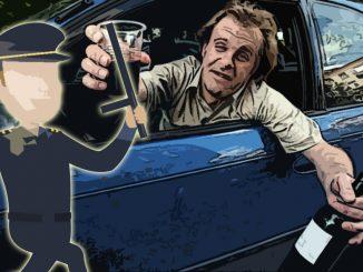 Сидел пьяный в своей машине: лишился водительских прав