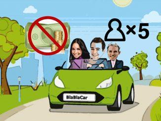 С попутчиков БлаБлаКар запретят брать наличные и установят предельные цены