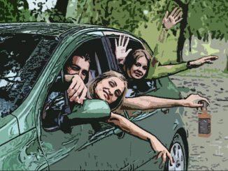 Перевозка пьяных пассажиров чуть не стоила прав водителю